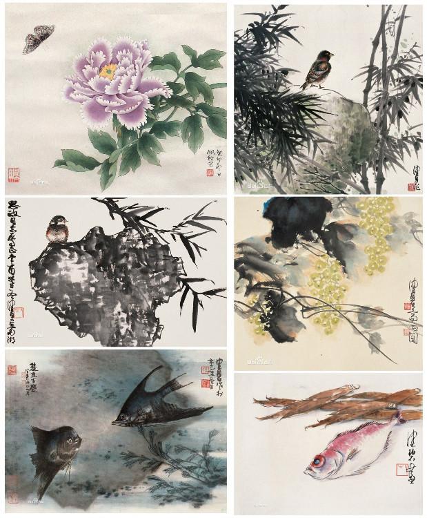 花鸟画画家陈佩秋1