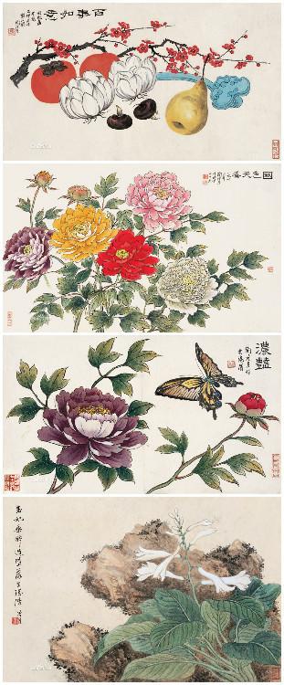 花鸟画画家陶冷月
