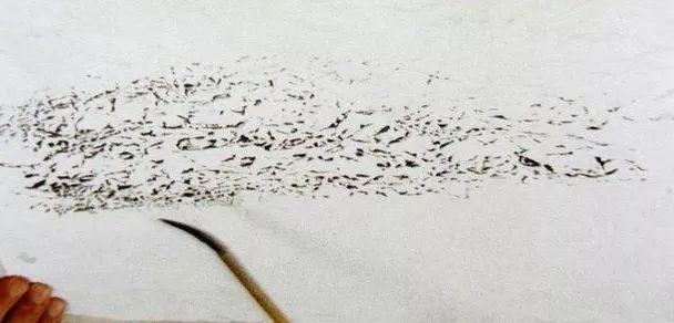 中国画技法之揉纸法1