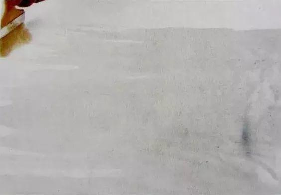 中国画技法之弹粉法2