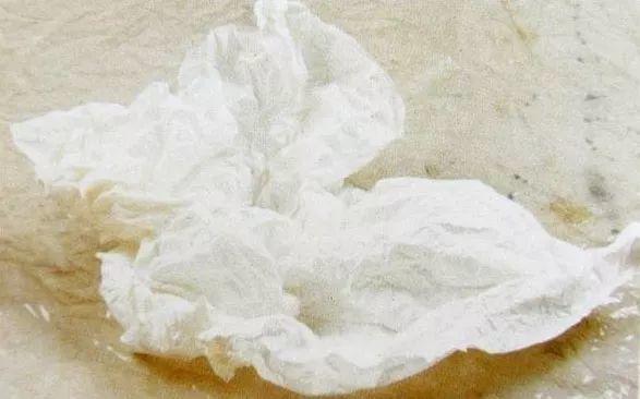 中国画技法之揉纸法