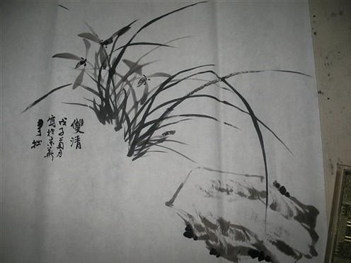 国画入门梅花的画法-2