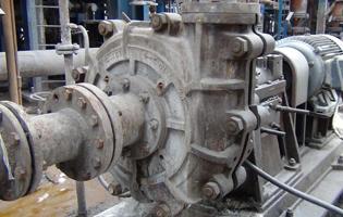 渣浆泵在电厂的应用