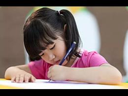 小孩子多大可以练字,几岁开始练字好?