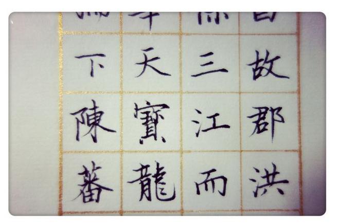 用什么样的笔练字?