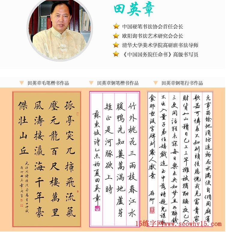 田英章书法论语38条,关于练字方法