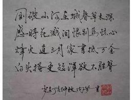 写字的字体已经成形能改吗?