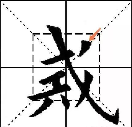 欧阳询九成宫结体三十六法(9——12)