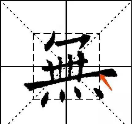 欧阳询九成宫结体三十六法(28—30)