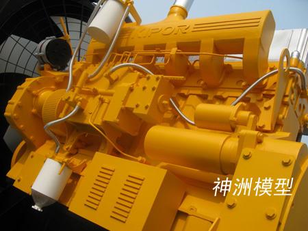 機械設備模型