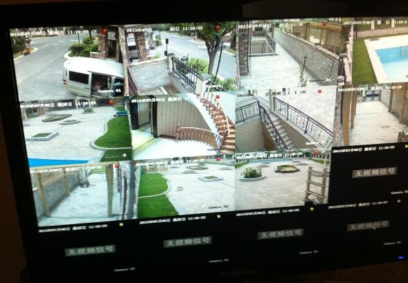 物业监控摄像机