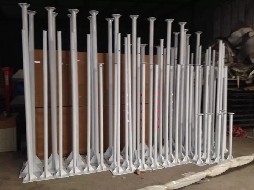 常规大小节立杆规格材质搭配