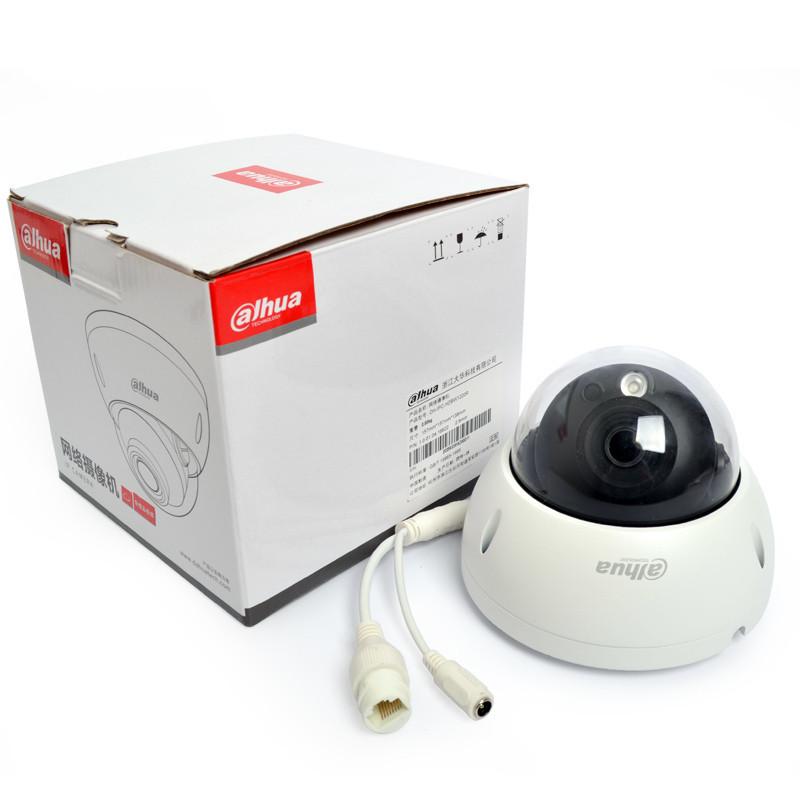 大华网络200万半球H.265防暴监控摄像头POE供电DH-IPC-HDBW1230R
