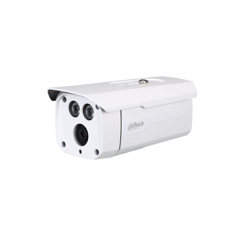 DH-IPC-HFW1020D 大华高清100万双灯POE红外防水枪型网络摄像机