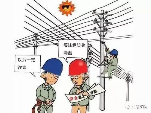 夏季高温安全防范小知识
