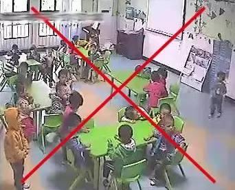 幼儿园监控视频安装效果