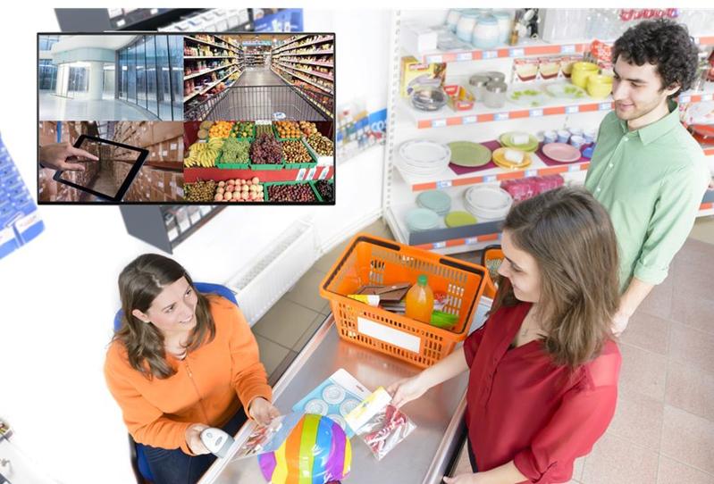 超市视频监控设计方案,让管理+运营更轻松!