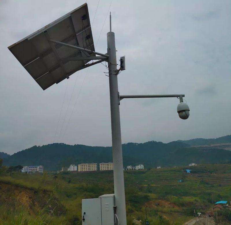 户外太阳能监控供电系统方案介绍