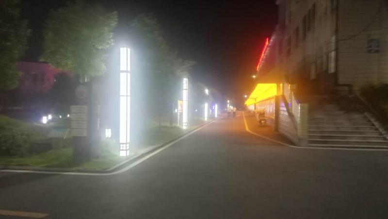 资兴市教育局为校园安装监控路灯,打造平安和谐校园