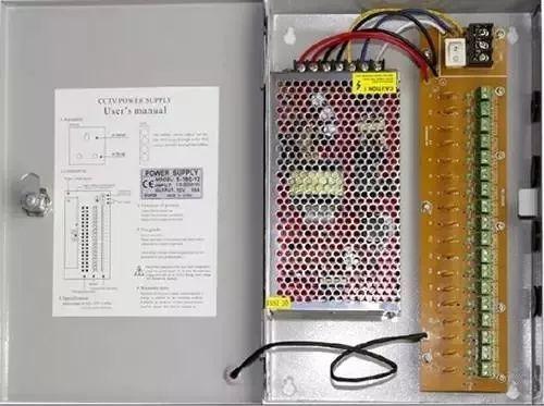 如何选择监控系统中的电源和电源线