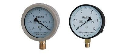 YE-100系列膜盒压力表