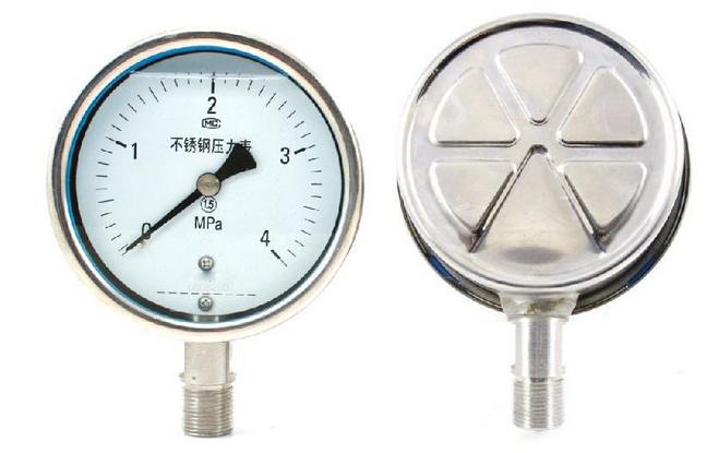 YBFN不锈钢耐震压力表