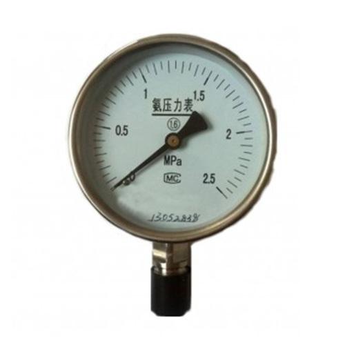 YA-100不锈钢氨用压力表