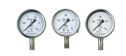 YTU-150S耐硫压力表