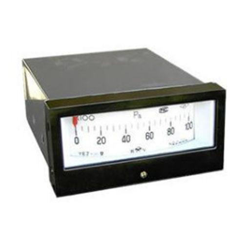 YEJ-121矩形接点膜盒压力表