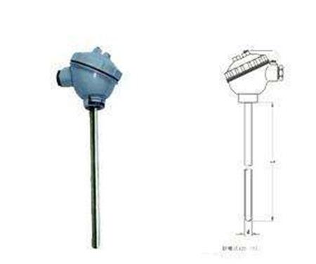 无固定装置装配热电阻
