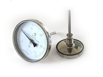 WSS-301轴向双金属温度计