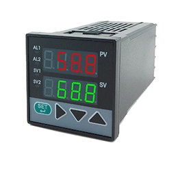 XD103智能单回路双屏显示控制仪
