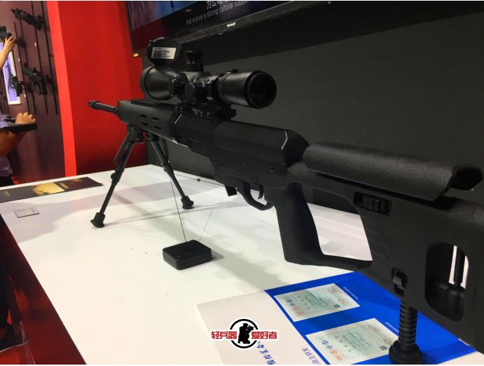 国产狙击步枪警用装备会展上的首次露面
