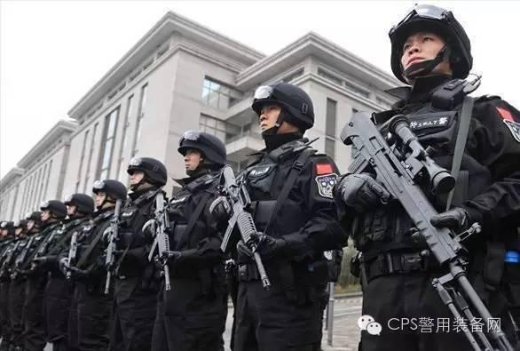 中国特警中的十大装备警用电击棍