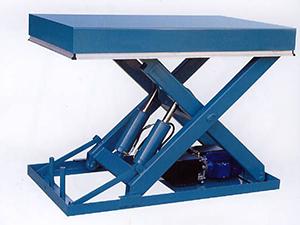 液壓升降機在應用設備中的配合使用