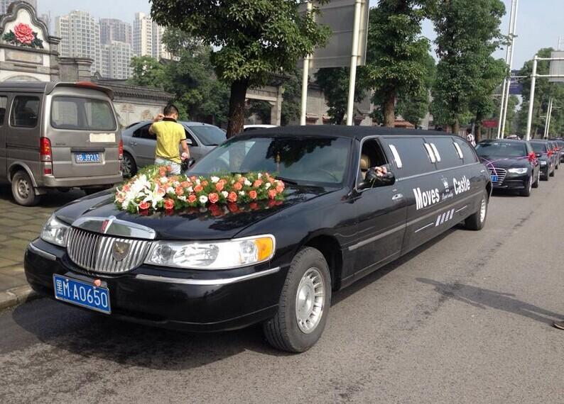 """哈尔滨租车-成功婚车--""""林肯1号+奥迪A6L车队"""" 圆满顺利结束"""
