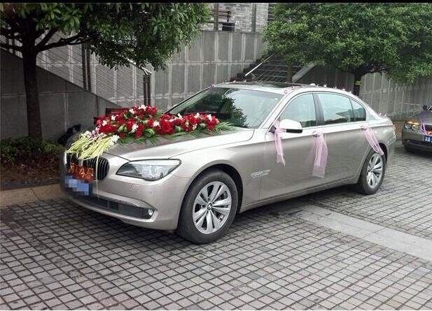 """哈尔滨租车-婚庆案例:""""宝马730L主婚车""""圆满顺利结束"""