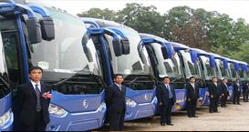 """为哈尔滨""""龙江楷模在身边""""主题活动提供大巴车服务"""