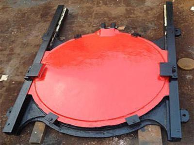 湖南污水處理廠鑄鐵鑲銅閘門