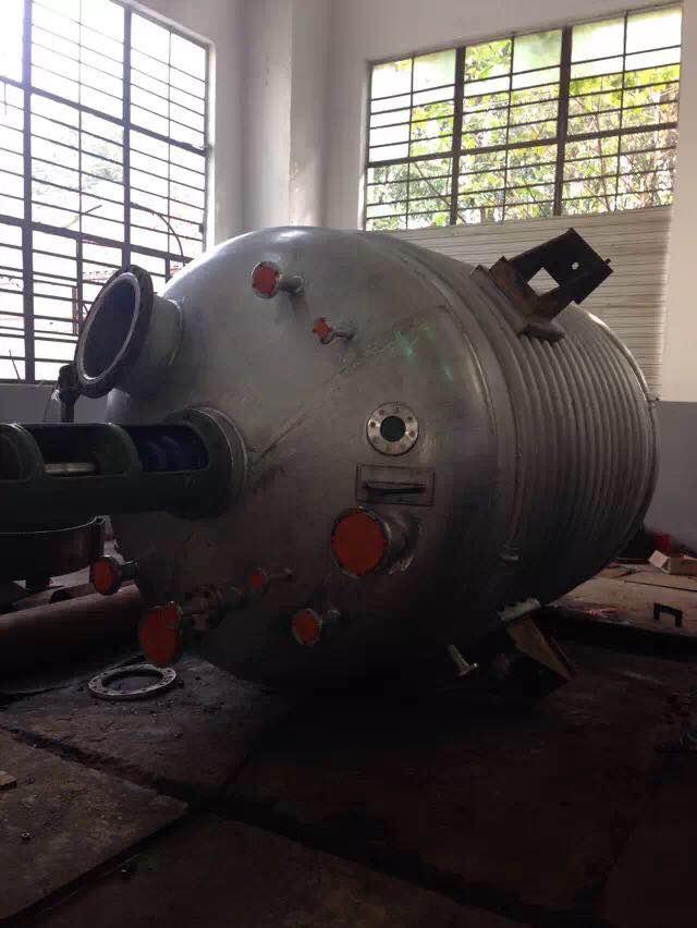 不銹鋼外盤管反應釜