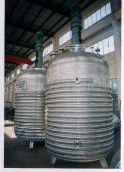不锈钢外盘管蒸汽加热反应釜