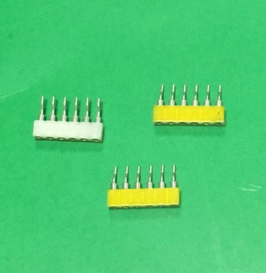 6芯针座2.0毫米间距6孔排母灯带连接器直销