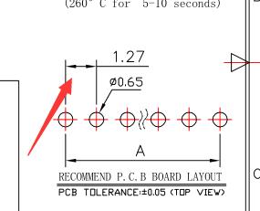 1.27mm间距单排直插型排针连接器产品详情介绍