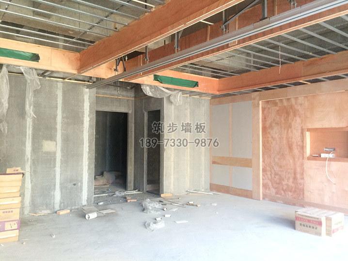 酒店宴会厅轻质隔墙板工程