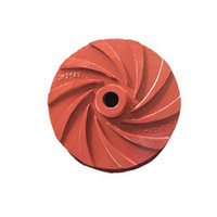Slurry pump impeller
