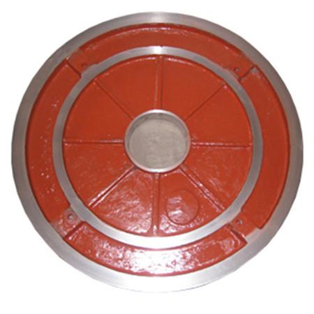Frame plate liner insert