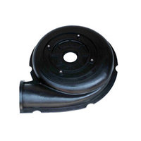 Rubber slurry pump liner