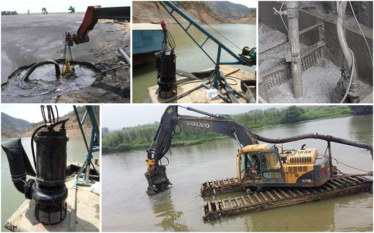 Applications of Submersible Slurry Pump