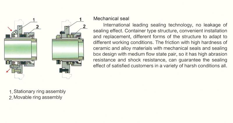 mechanical seal.