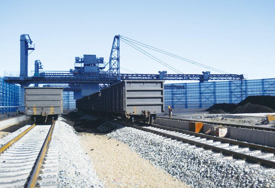 門式鏈鬥卸車機的研發生產符合產業自動化的趨勢